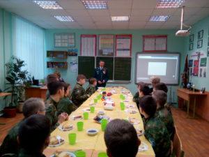 Встреча с ветераном боевых действий в р. Афганистан подполковником Охлучиным