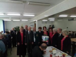 Ветераны совместно с ансамблем завода ГАЗ Второе дыхание