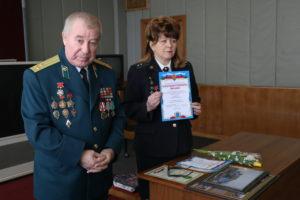 Вручение грамоты ПУ председателю организации Автозавода ГАЗ