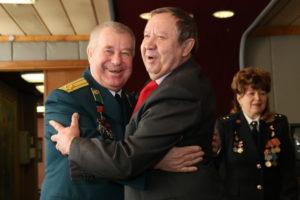Теплая встреча ветерана Пограничника и ветерана ФСБ
