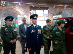 Выступление участника боевых действий ветеран Охлучин С.Б.