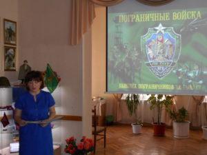 Начинает вечер старший инструктор Сосунова Нина Анатольевна